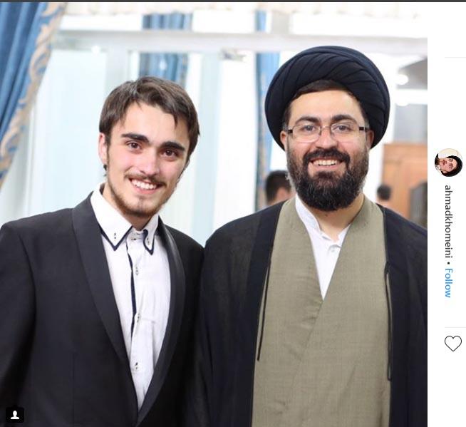 سید احمد خمینی عمو باسر عزیزم! شما مردی از جنس نجابت و صبر