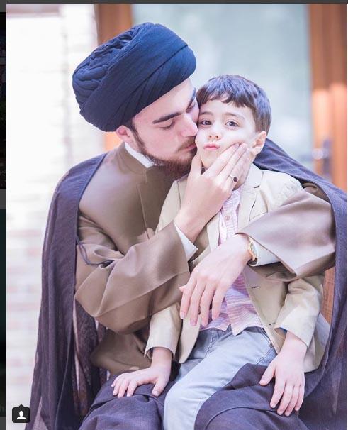 سید احمد خمینی ٬ دانش آموخته دبیرستان شهید قدوسی تهران