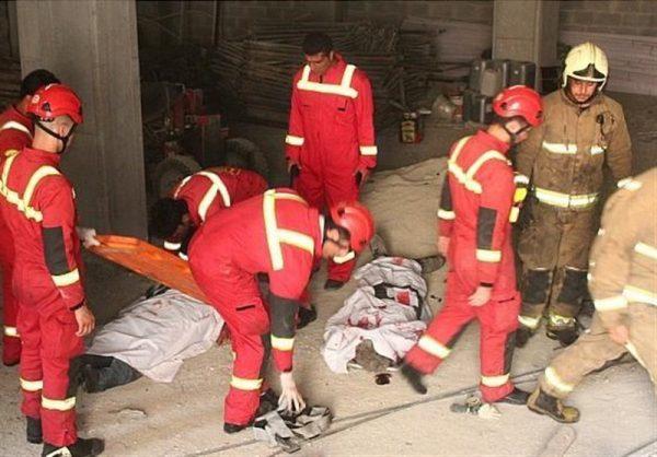 سقوط مرگبار ۲ نصاب به چاهک آسانسور