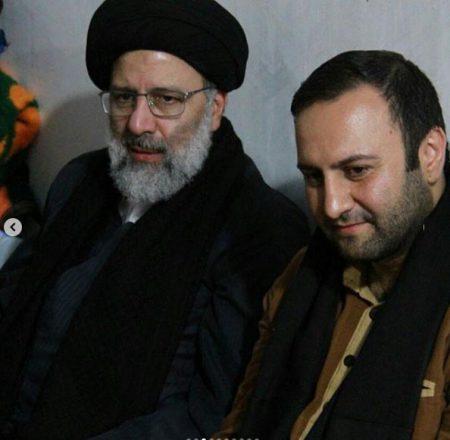 محسن پیرهادی در کنار رئیسی